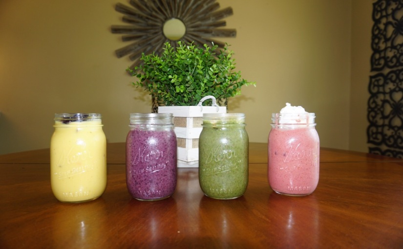 Spring Time Smoothies
